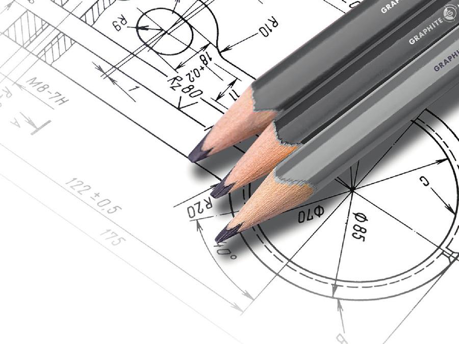 Konstruktion_Skizze Bleistift