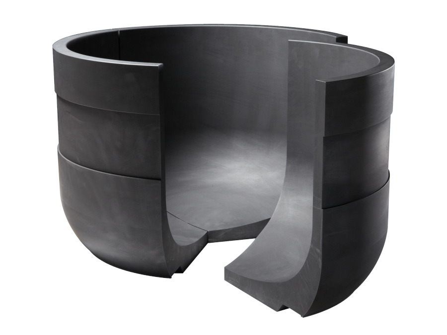 Graphite crucibles_Sectional view